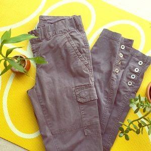 Gap premium skinny gray pant size 6/28